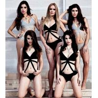 Buy cheap Summer Beautiful Bandage One Piece Swimsuit European Style For Lady from Wholesalers