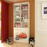 Wholesale EO Grade Kids'/Children's Furniture, 2-door Book Cabinet with Printing Cartoon Pictures from china suppliers