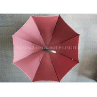 Wholesale Fiberglass 8 Ribs Promotional Gifts Umbrellas Red Strong Sturdy Rain Umbrellas from china suppliers