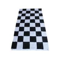China new arrivals 2018 shopping online car games accessories checked display flag on sale