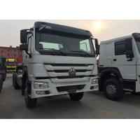 Buy cheap SINOTRUK HOWO Dropside Cargo Commercial Vehicles Truck Chassis LHD 6X4 371HP from Wholesalers