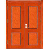 Wholesale Double Leaves Wooden Fire rated Door from china suppliers