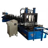 Wholesale 80-300mm CZ Purlin Roll Forming Machine For 1.5-4mm Thickness Purlin from china suppliers