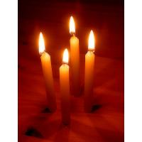 white candles(VELAS BRANCAS)