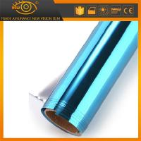 China High heat rejection self-adhesive PET solar window film silver blue building film on sale