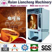 Wholesale instant coffee making machine raw material 3 in 1 microcomputer Automatic Drip coin operated instant from china suppliers