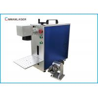 China CNC AutomaticMini Metal Laser Marking Machine , Steel Marking Machine With Auto Focus on sale