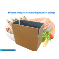 Buy cheap Popular insulated packing carton box for shipping seafood fresh fruits caviar from wholesalers