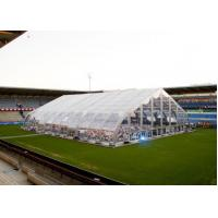 China Permanent External Aluminum Frame Tent 850 G / Sqm Roof With PVC Cover on sale