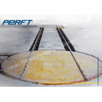 Wholesale Customized Industrial Material Handling Turntable with Rails for Material Turnover of Rail Transfer Car from china suppliers