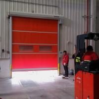 China Industrial Automatic Self Repairing Zipper High Speed Door for Pharma Clean Room or Warehouse on sale