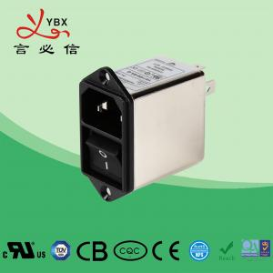Wholesale Single Phase UL1283 IP40 250VDC EMI Power Filter from china suppliers