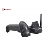 Wholesale Commercial Black Case Induction Charging Wireless 2D Barcode Scanner from china suppliers