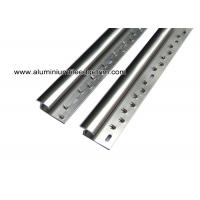 Buy cheap Aluminum Laminate To Carpet Threshold / Trim / Door Strip With Glossy Silver from wholesalers