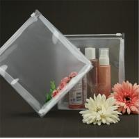 Wholesale Lightweight Transparent Travel Toiletry Bag Bespoke 100% Handmade Sewing from china suppliers