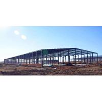 China Durable Pre Engineered Buildings Steel Construction Warehouse Structure Design on sale