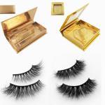 Wholesale Wholesale mink eyelashes vendor with custom eyelash packaging from china suppliers