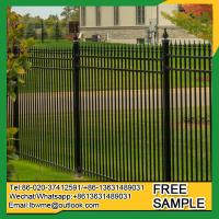 Wholesale WestPalmBeach tubular fence Clearwater steel fencing 25 years factory from china suppliers