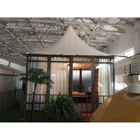 China Glass marquee prefab resort house for outdoor hotel tents camping outdoor on sale