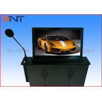 Wholesale 18.5 Inch Motorized Computer Desk Monitor Lift With Conference Microphone from china suppliers