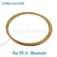 Golden Yellow 1.75mm pla filament for Markerbot , RepRap , Cubify and UP 3D Printer