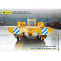 Wholesale Metallurgy Interbay Rail Transfer Cart Towed Heavy Duty Handling Equipment from china suppliers