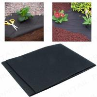 Wholesale 50G Heavy duty weed control fabric ground cover membrane gardening landscape mulch from china suppliers