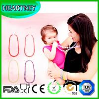 Wholesale High Quality Silicone Teething Necklace for Mom to Wear! Great Baby Teething Toy from china suppliers