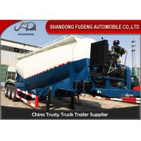 Wholesale V Shape Bulk Cement Tanker Trailer With Diesel Engine FUWA / BPW Axle from china suppliers
