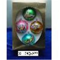 China Personalized Glass Ball Ornaments on sale
