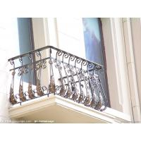 China Galvanized wrought iron fence/used wrought iron fencing on sale