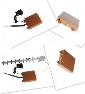 3G 2100MHz 황금 마이크로 힘 셀룰라 전화 신호 반복기 AGC/AGC
