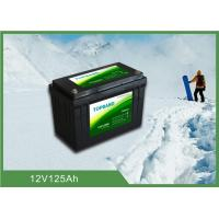 Buy cheap Durable Lithium Iron Phosphate Battery 12V 125ah with low temperature function from wholesalers