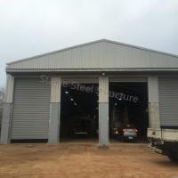 Pre-Fabricated Mechanical Steel Building with SGS Certificate