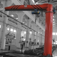 Wholesale Lifting 5m 16T Shipbuilding Workshop Cantilever Jib Crane from china suppliers