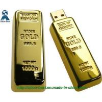 Wholesale Novelty Gold Bar Metal USB Stick from china suppliers