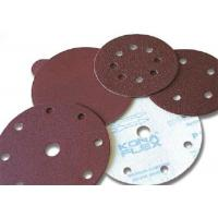 Quality Red Heavy Weigh abrasive sanding discs , performance disc abrasive for sale