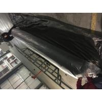 Short Fiber Needle Punched High Strength PP Non woven Geotextile Black Color With Anti UV