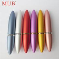 Wholesale Colorful 6ml bullet lipstick aluminum perfume spray bottles perfume pen from china suppliers