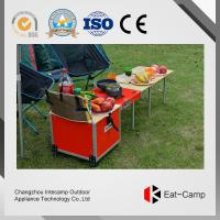 Wholesale Multi Function BBQ Outdoor Kitchen Prep Station With Fire Windproof Technology from china suppliers