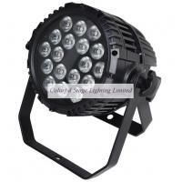 Wholesale UL Listed 18x10W Outdoor RGBW Quad color Waterproof LED Par Stage Lighting from china suppliers