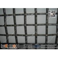 Wholesale 65Mn Crimped Wire Mesh | 15mm Wire Dia. Mining Sieving Screen from china suppliers