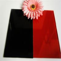 Buy cheap 5mm black painted glass from Wholesalers