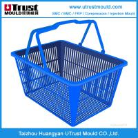 Wholesale Plastic injection mould supermarket basket mould/shopping cart mould for fruit & vegetable from china suppliers