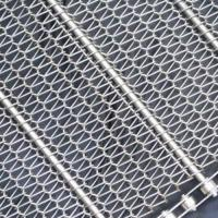 Wholesale Stainless Steel Conveyor Belt Mesh|SS304/316 with Pitch 15.9 to 76.2 mm from china suppliers