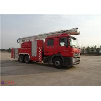 Wholesale High Strength Telescopic Crane Fire Fighting Vehicles , Heavy Duty Fire Truck Leg Action Time ≤40s from china suppliers