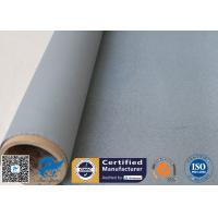 Buy cheap Silicone Coated Fiberglass Fabric 1050GSM 0.85MM Grey High Strength Fire Blanket from wholesalers