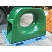 Wholesale Mooring Warping Chock Mooring Bollard Bitt Fairlead with Horizontal Roller Chock Chain Stopper from china suppliers