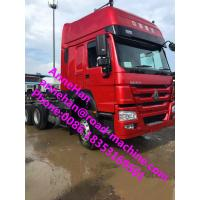 Wholesale 6x4 HOWO7 Sinotruk 102 km / h Prime Mover Truck Tractor Truck For Long Time DistanceTransport with 2 sleepers in cabin from china suppliers