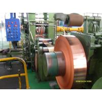 Wholesale Industrial Thin Copper Strips / Copper Sheet Metal For PV Ribbon from china suppliers